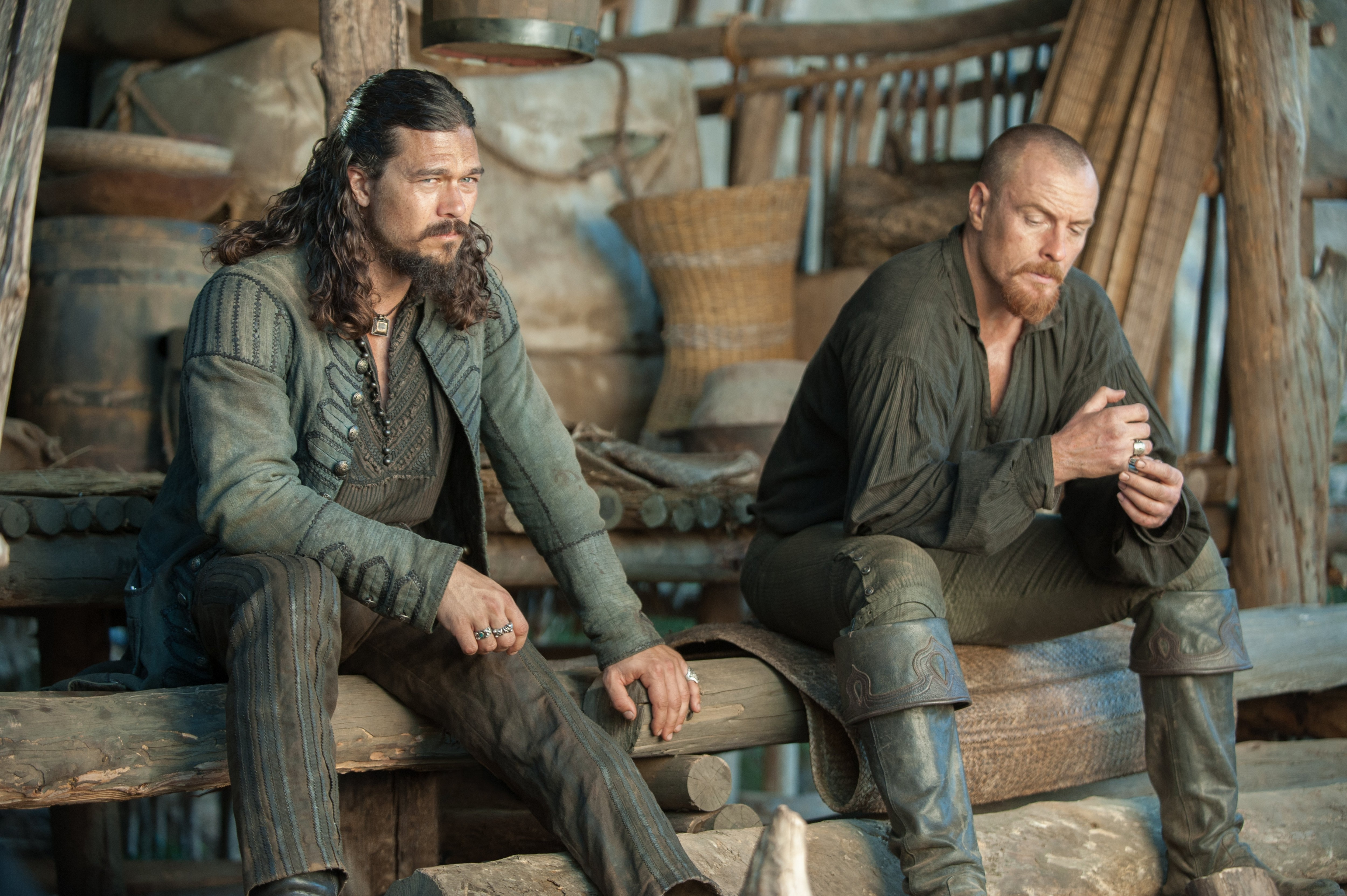 Black sails s3 pirate captain flint leather coat - Black Sails Captain James Flint And John Silver Black Sails Series Pinterest Black Sails Toby Stephens And Tvs