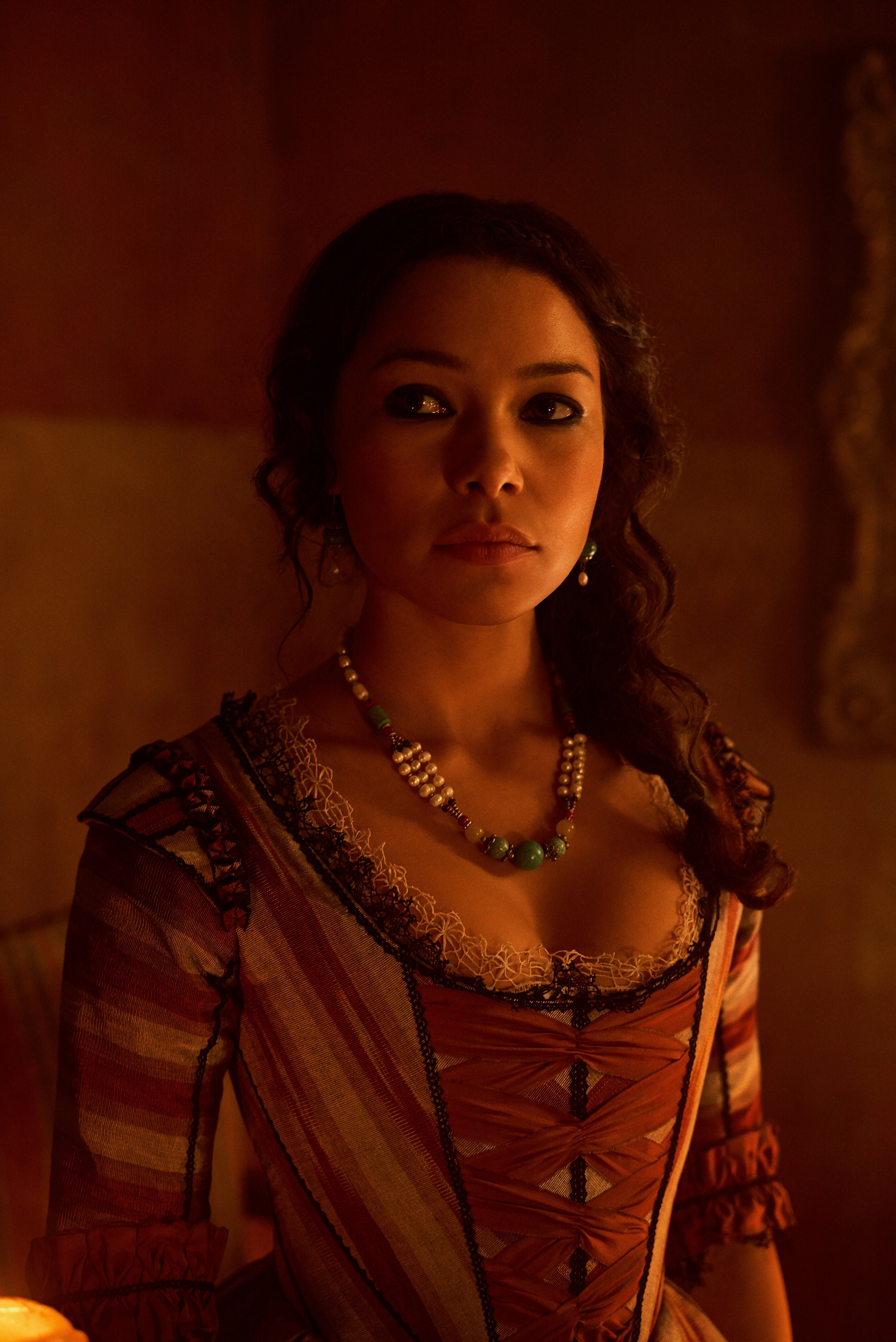 Jessica Parker Kennedy as Max in Black Sails