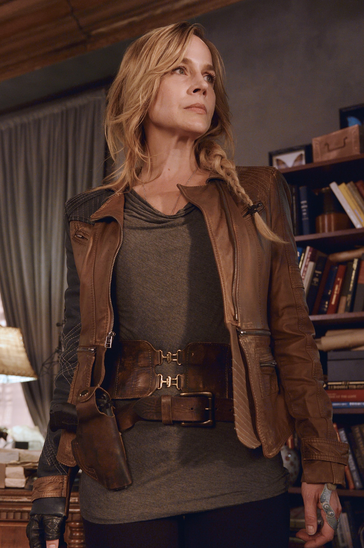 Amanda Rosewater Brown Leather Jacket
